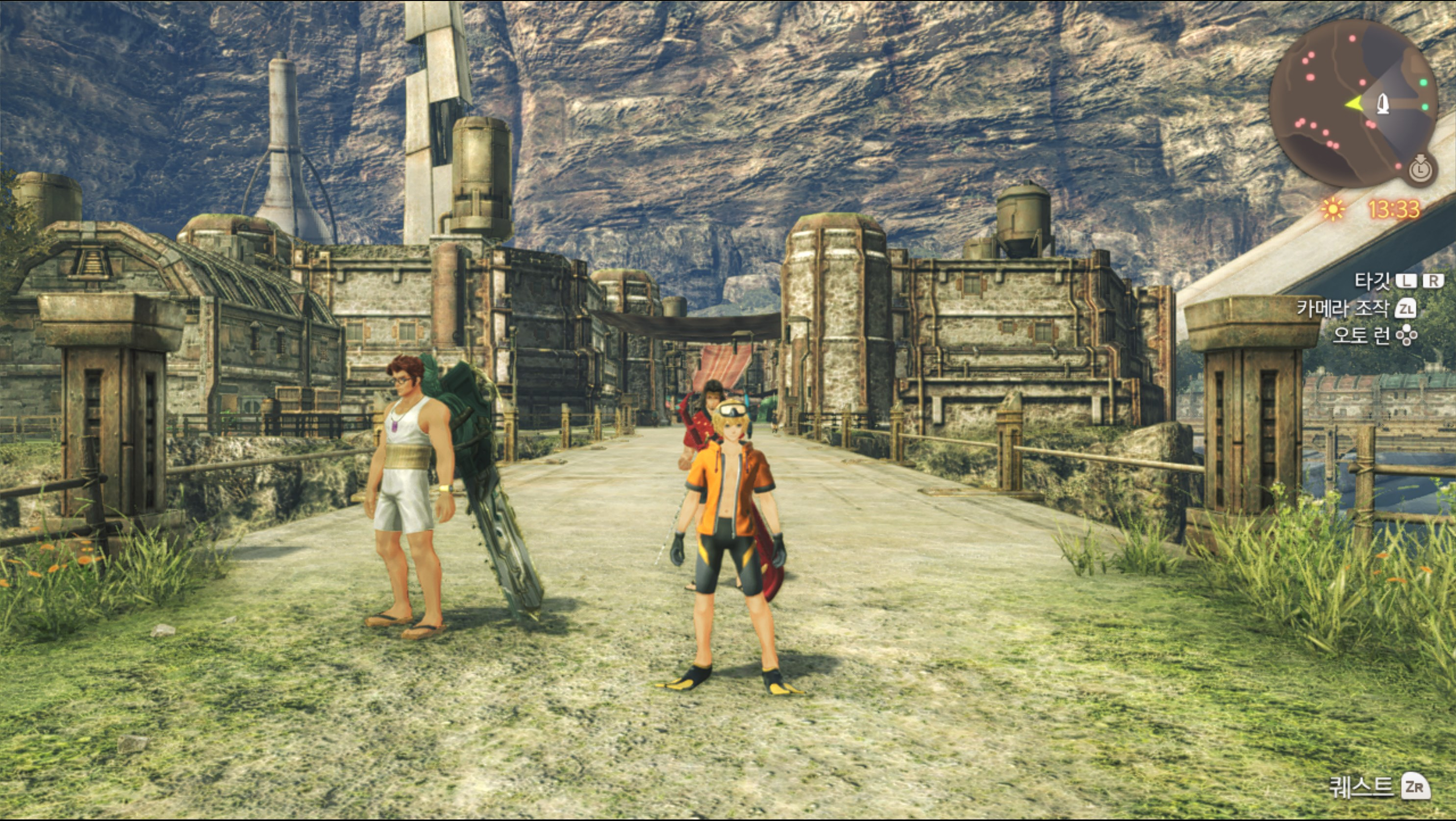 Xenoblade Chronicles (EA Vs. HADES)