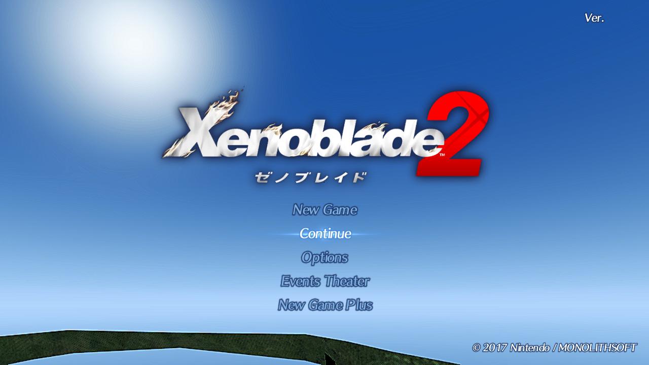 Xenoblade Chronicles 2 - yuzu